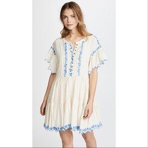 🆕 Free People Santiago Embroidered Mini Dress